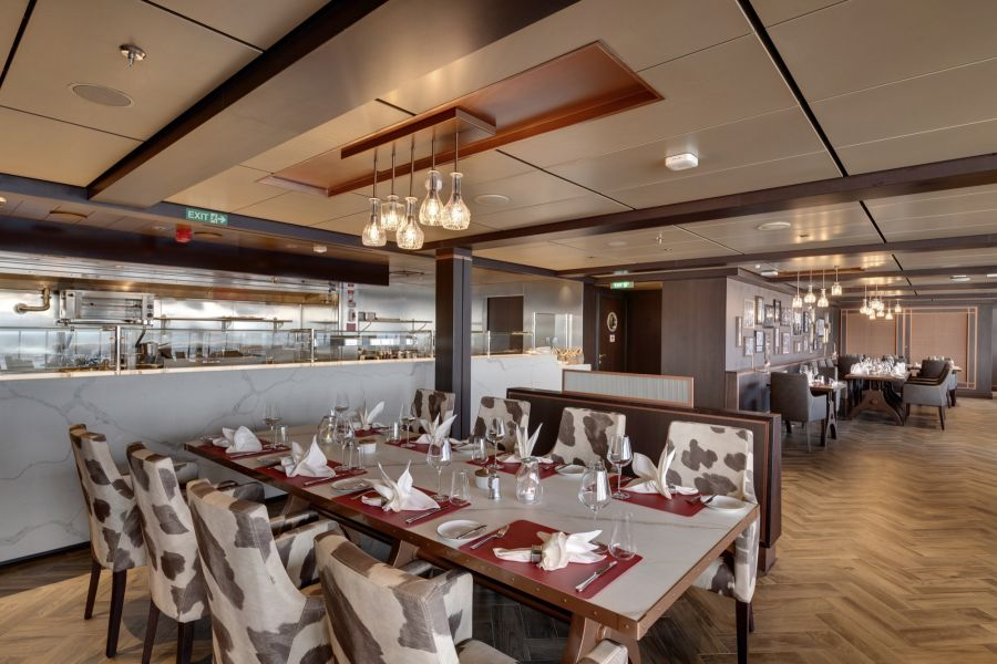 MSC Seaview-dining-Butcher's Cut