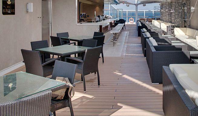 MSC Seaview-entertaiment-Aurea Bar