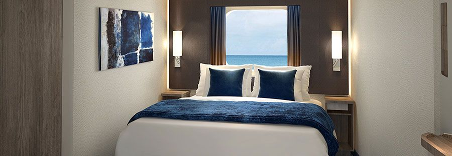 Norwegian Bliss-stateroom-Oceanview - Connecting Stateroom