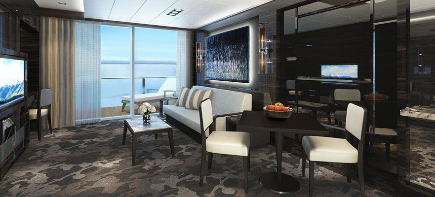 Norwegian Bliss-stateroom-The Haven 2-Bedroom Family Villa with Balcony