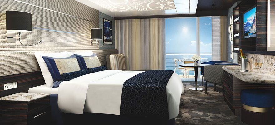 Norwegian Bliss-stateroom-The Haven Courtyard Penthouse with Balcony