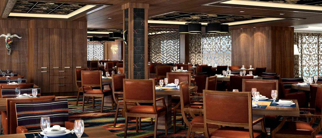 Norwegian Bliss-dining-Los Lobos