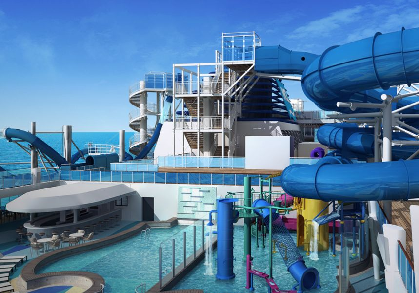 Norwegian Bliss-entertaiment-Aqua Park