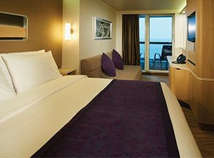 Norwegian Breakaway-stateroom-Family Mini-Suite with Balcony