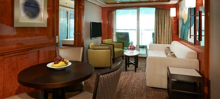 Norwegian Dawn-stateroom-2-Bedroom Family Suite with Balcony