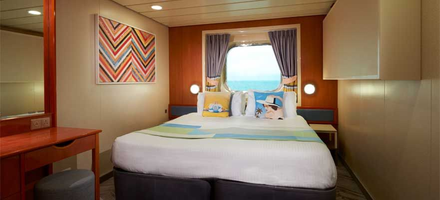 Norwegian Dawn-stateroom-Family Oceanview Picture Window