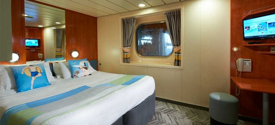 Norwegian Dawn-stateroom-Obstructed Oceanview
