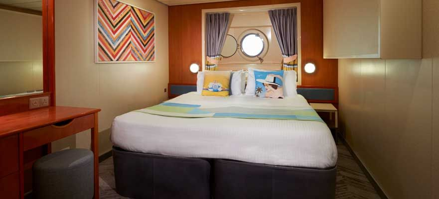 Norwegian Dawn-stateroom-Oceanview Porthole Window