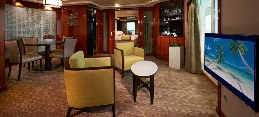 Norwegian Dawn-stateroom-Owner's Suite with Two Balconies