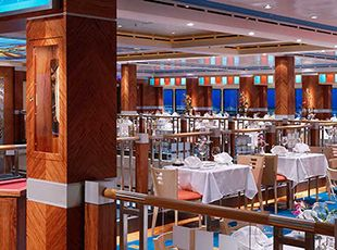 Norwegian Dawn-dining-Bamboo - A Taste of Asia