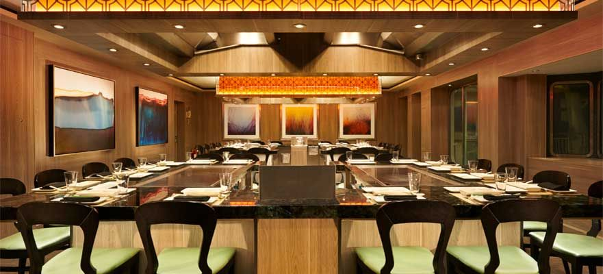 Norwegian Dawn-dining-Teppanyaki