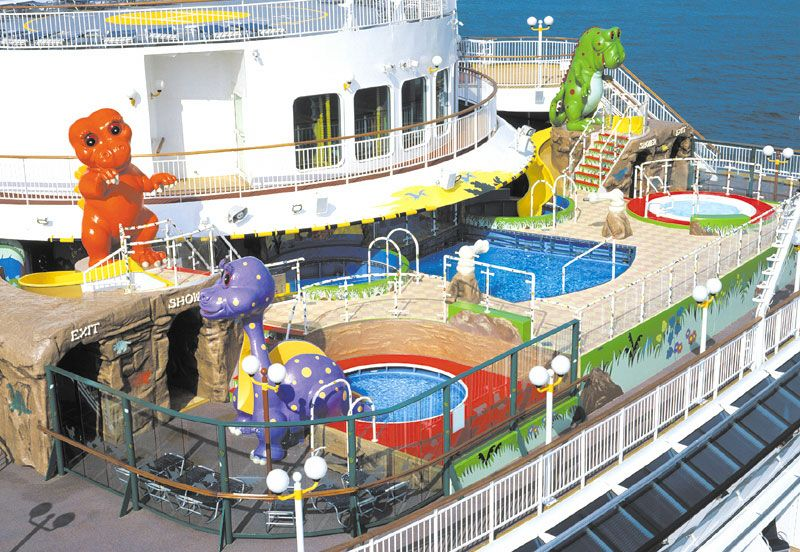 Norwegian Dawn-kidsandteens-T- Rex Kid's Pool