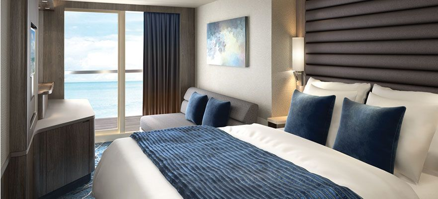 Norwegian Encore-stateroom-Balcony