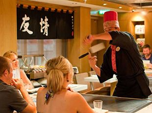Norwegian Epic-dining-Teppanyaki