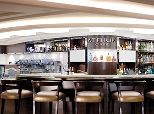 Norwegian Epic-entertainment-Café at the Atrium