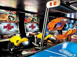 Norwegian Epic-entertainment-Video Arcade