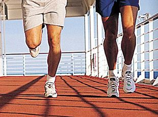 Norwegian Epic-health-and-fitness-Jogging/Walking Track
