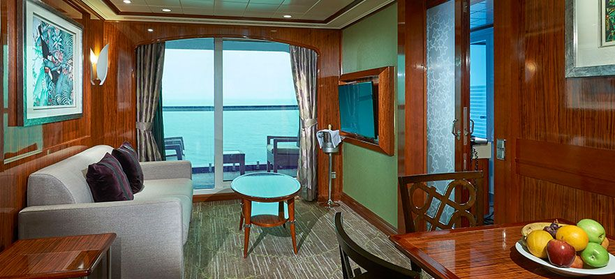 Norwegian Gem-stateroom-2-Bedroom Family Suite with Balcony