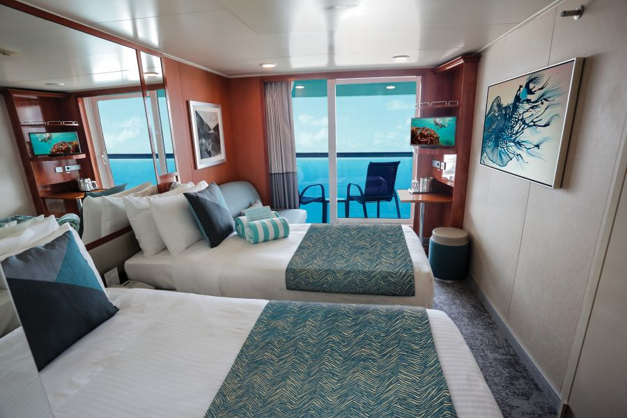 Norwegian Gem-stateroom-Balcony