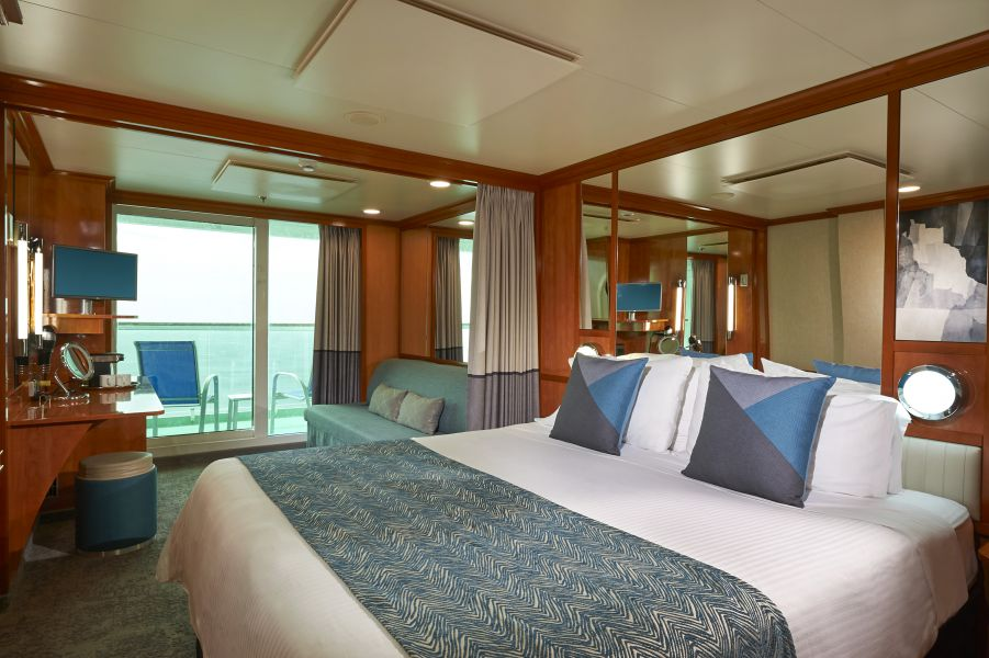 Norwegian Gem-stateroom-Mini-Suite with Balcony