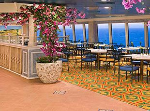 Norwegian Gem-dining-Garden Café / Kid's Café