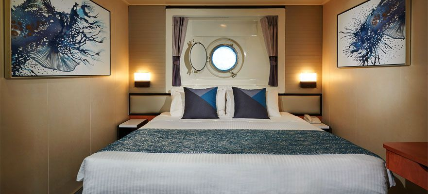 Norwegian Jade-stateroom-Oceanview Porthole Window