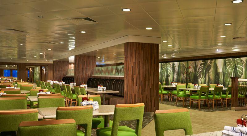 Norwegian Jade-dining-Garden Café / Kid's Café