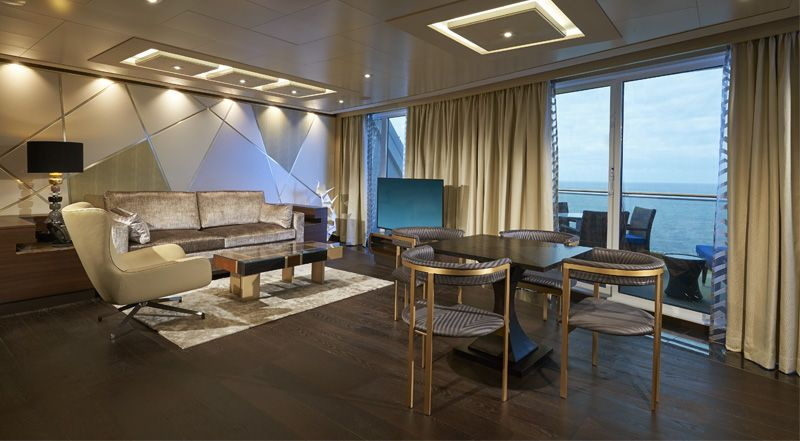 Norwegian Joy-stateroom-The Haven Deluxe Owner's Suite with Large Balcony
