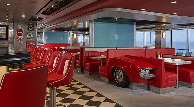 Norwegian Joy-dining-American Diner