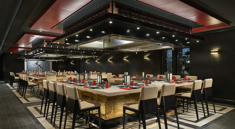 Norwegian Joy-dining-Teppanyaki