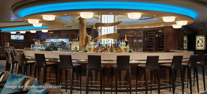 Norwegian Joy-entertaiment-Atrium Cafe & Bar