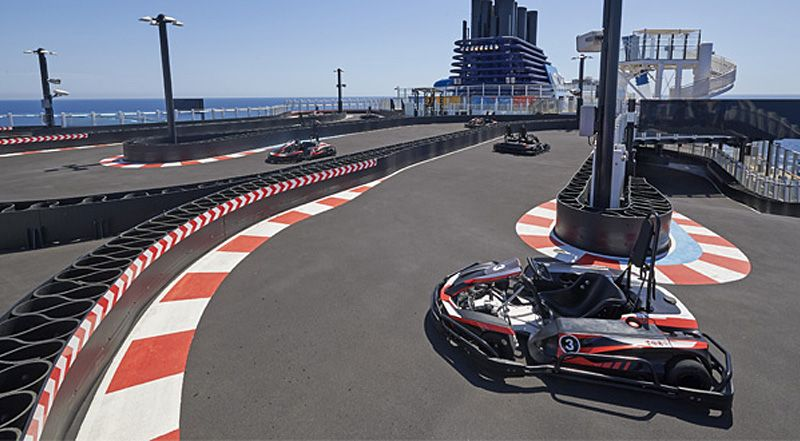 Norwegian Joy-entertaiment-Race Track