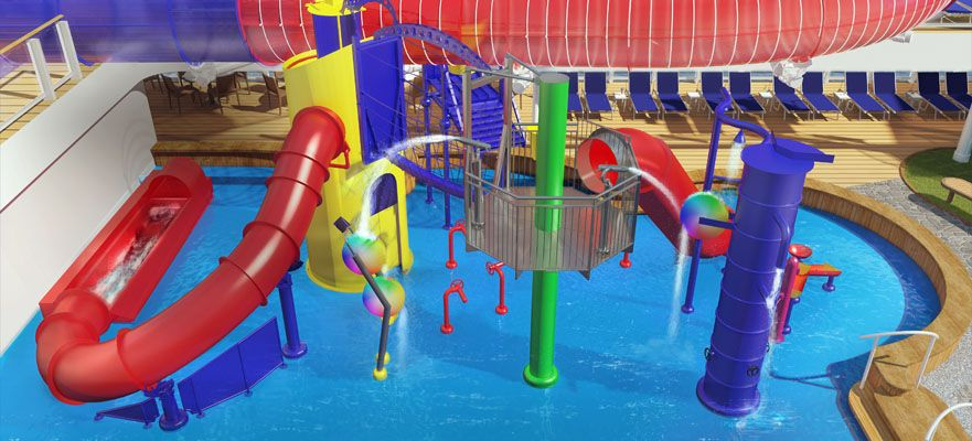 Norwegian Joy-kidsandteens-Kid's Aqua Park