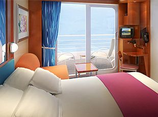 Pride of America-stateroom-Large Balcony