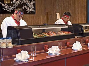 Pride of America-dining-Sushi Bar