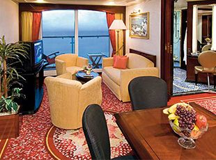 Norwegian Spirit-stateroom-Aft-Facing Penthouse with Large Balcony