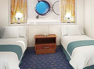 Norwegian Spirit-stateroom-Oceanview Porthole Window