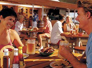 Norwegian Spirit-dining-Bier Garten Grill