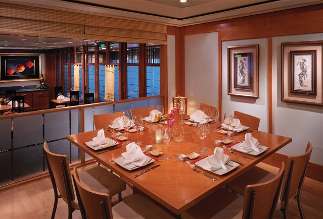 Norwegian Spirit-dining-Shogun Asian Restaurant