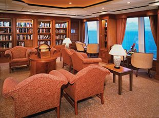 Norwegian Spirit-entertaiment-Library