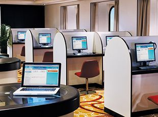 Norwegian Spirit-entertaiment-The Lifestyle Room/ Internet Café