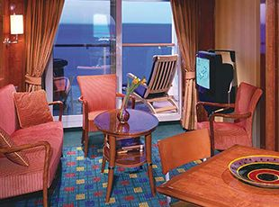 Norwegian Star-stateroom-2-Bedroom Family Suite with Balcony