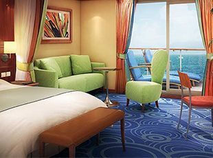 Norwegian Star-stateroom-Aft-Facing Penthouse with Large Balcony