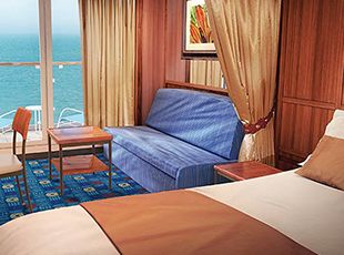 Norwegian Star-stateroom-Mini-Suite with Balcony