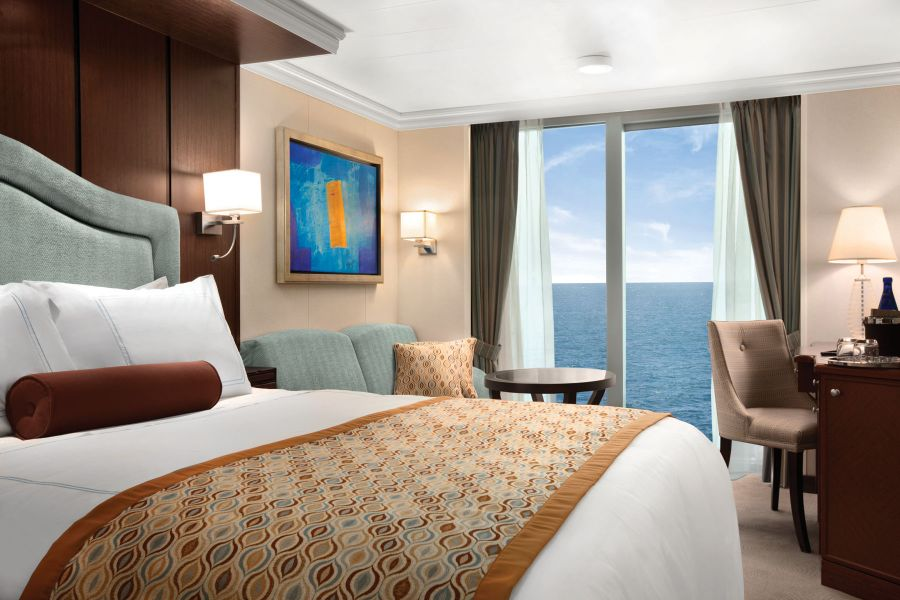 Riviera-stateroom-Deluxe Ocean View Staterooms