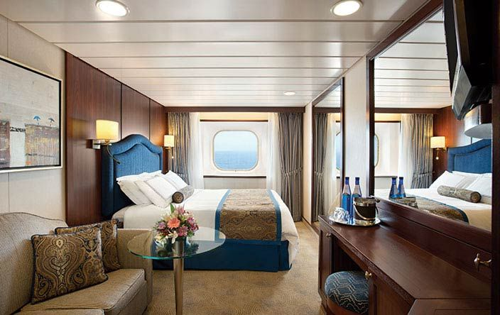Sirena-stateroom-Deluxe Ocean View Stateroom