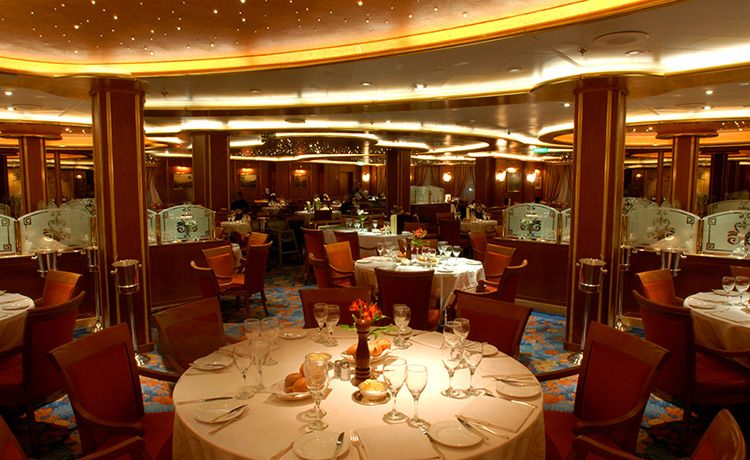 Caribbean Princess-dining-Anytime Dining- Palm & Coral Dining Room