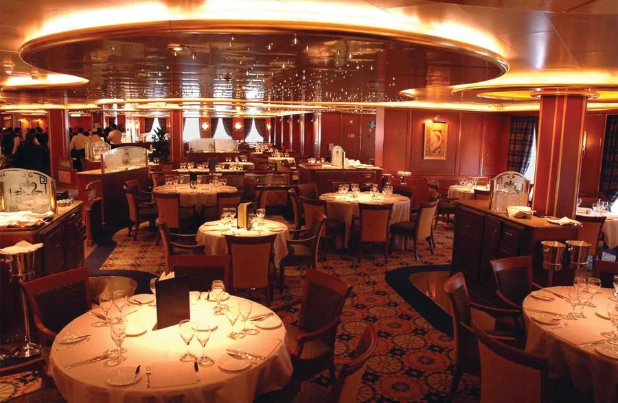 Caribbean Princess-dining-Traditional Dining- Island Dining Room