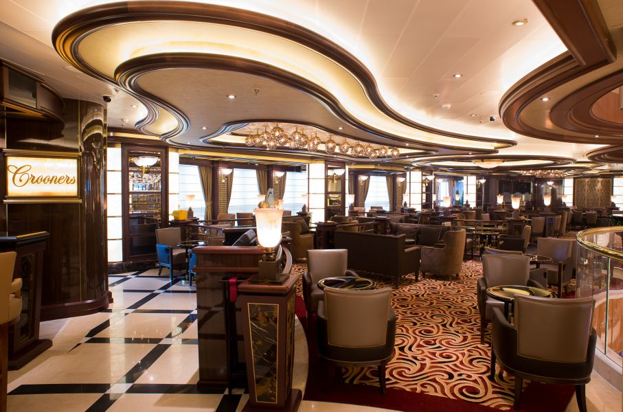 Caribbean Princess-entertainment-Crooner's Bar
