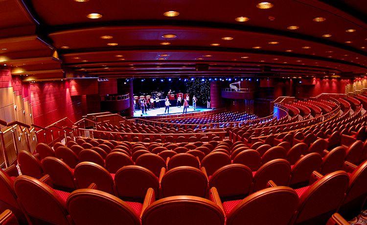 Caribbean Princess-entertaiment-Princess Theatre